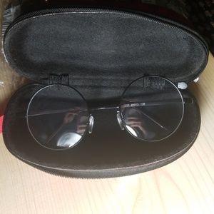 SHEIN Accessories - Black frame retro round glasses *Brand New*